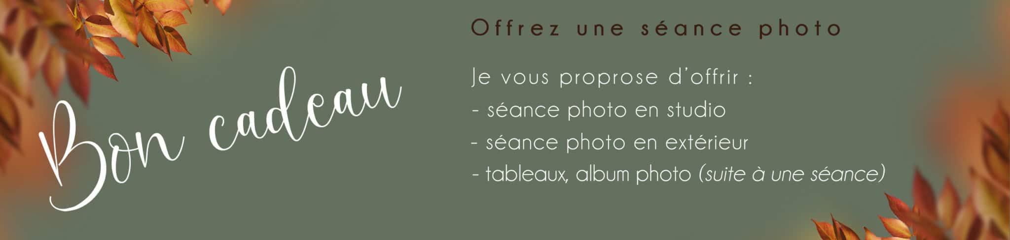offrir une séance photo : bon cadeau - clover photographies