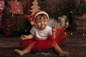 clover photographies : séance photo noel en famille, enfant à strasbourg