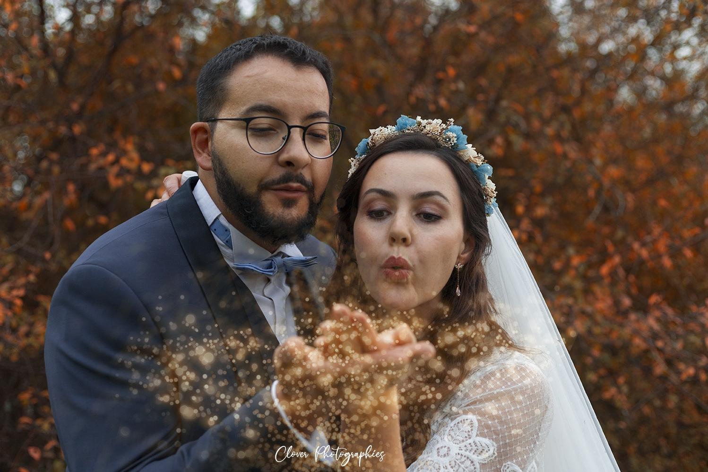 photographe mariage en automne alsace moselle : strasbourg sarrebourg - clover photographies