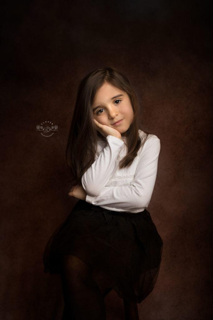 séance photo portrait petit fill fillette - fine art enfant strasbourg - clover photographies