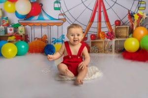 Séance photo bébé anniversaire smash the cake strasbourg - Clover Photographies