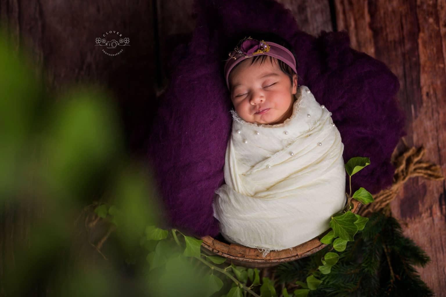 Séance photo naissance bébé - Strasbourg - Clover Photographies
